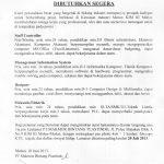 lowongan pekerjaan pt makmur bintang plastindo 24-06-2013